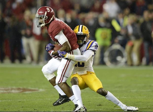 Brian Griese predicts that Alabama will beat LSU.