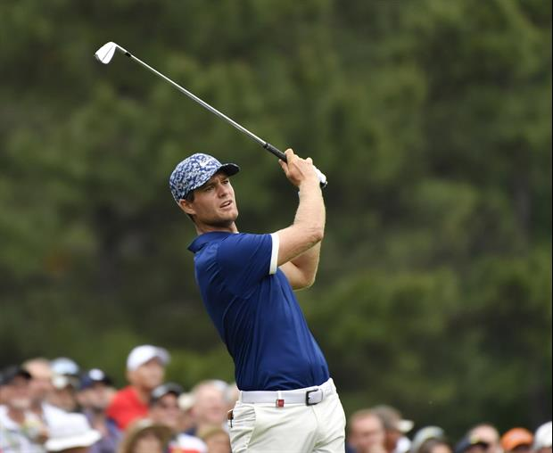 Check out Lucas Bjerregaard sink this hole-in-one on the 17th hole at the PGA Championship...