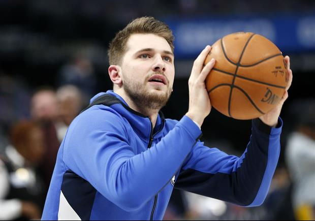 Mavs Star Luka Doncic Landing Some Killer Trick Shots In the Bubble