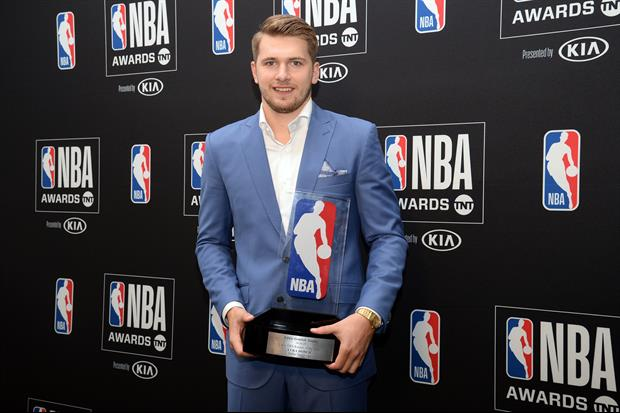 Luka Doncic's Mom Was The Talk Of The NBA Awards Last Night