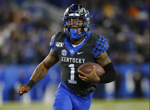 Kentucky WR Lynn Bowden Was Also A Punter In High School, Scored 99-Yard TD Once