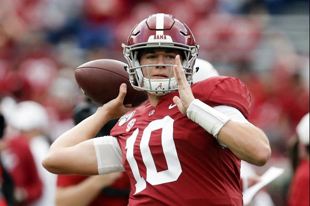 Alabama QB Mac Jones Ran A Special Play For Bill Belichick At His Pro Day