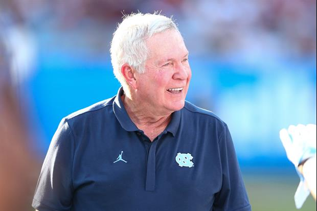 Mack Brown Gets Emotional Then Busts Out Dance Moves In
