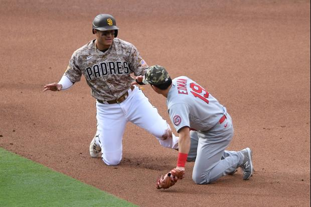 San Diego Padres Star Manny Machado At The Center Of 'Dirty' Play Last Night.