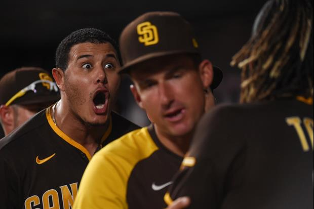Padres Stars Manny Machado And Fernando Tatis Jr. Have Very Heated Exchange In Dugout