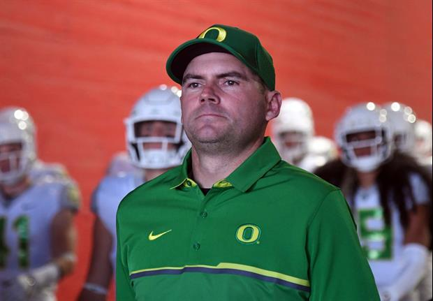 Did Oregon Trash Mark Helfrich In Its Press Release About His Firing?