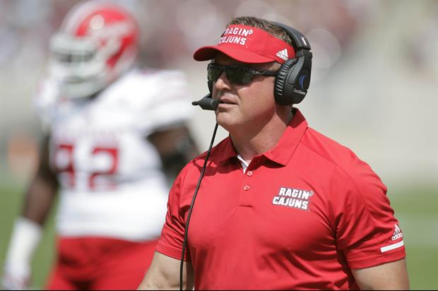Louisiana-Lafayette's Head Coach Annoyed With ESPN About Their Logo.....