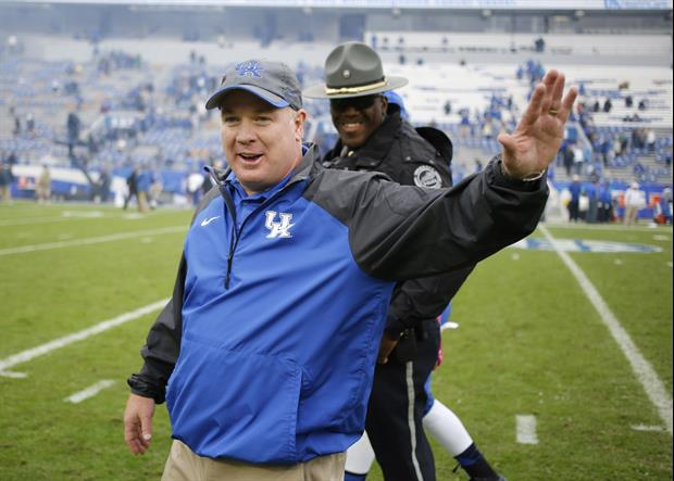 Kentucky Fan Recreates Mark Stoops Crowd Surfing For Her Halloween Costume