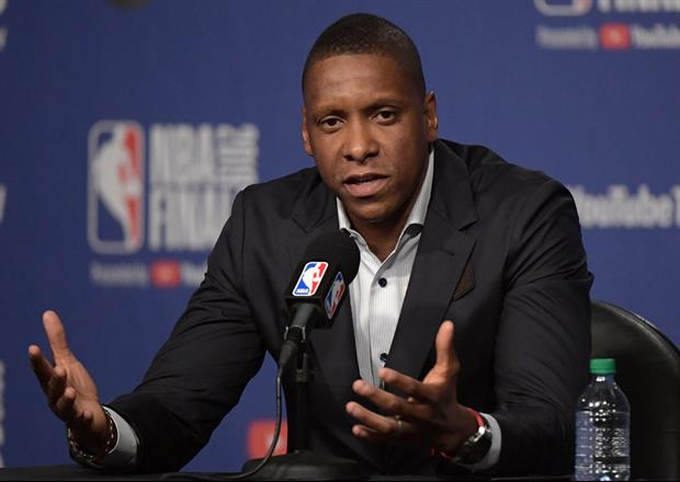 Video Of Raptors Exec Masai Ujiri Involved In Altercation With Police After Win