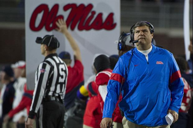 Apparently Half Of Ole Miss' Team Is Considering Leaving After Matt Luke's Firing