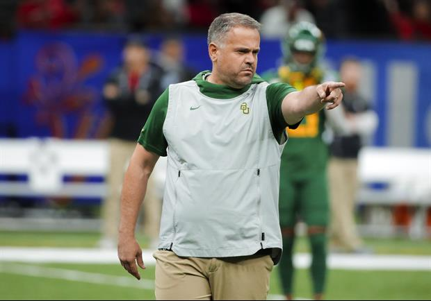 Panthers Owner Gave An Amazing Reason For Hiring Baylor's Matt Rhule