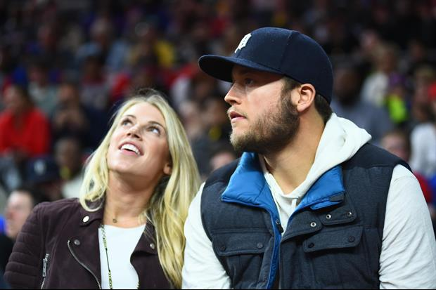 Matthew Stafford's Wife Responds To J.J. Watt's Comments From Sunday