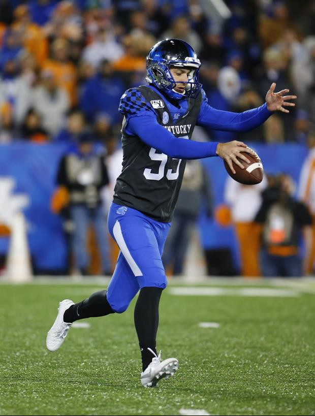 Kentucky's Punter Had A Seizure This Season & Now Gets 20 Needles In His Head Weekly