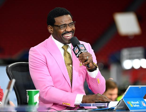 Michael Irvin Might Actually Be Too Hyped For Tonight's Miami Vs. Florida Game