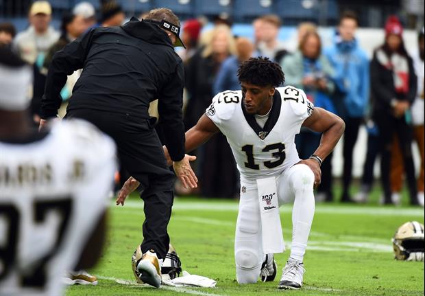 Michael Thomas Had A Very 'Productive' Meeting With Sean Payton To Clear The Air