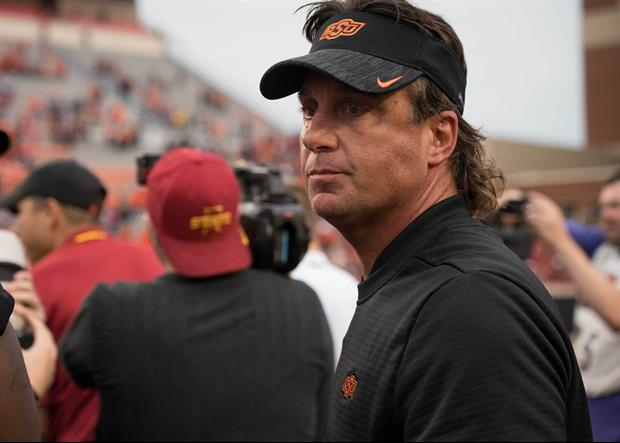 Listen To Oklahoma State's Mike Gundy Blow Up On Reporter During BIG 12 Teleconference