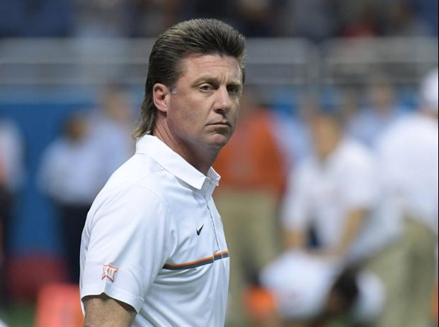 Oklahoma State Coach Mike Gundy S Mullet Is Now Blonde