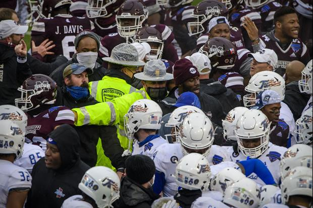 Someone Did This Hilarious Breakdown Of Mississippi State & Tulsa's Post-Bowl Brawl
