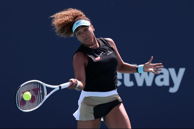 Tennis superstar Naomi Osaka just launched her very own signature swimwear line that she's showed of