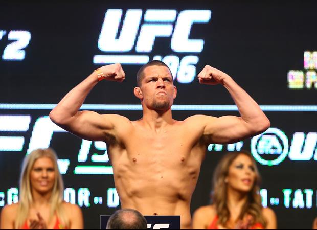 Nate Diaz Smoked A LOT Of His New Marijuana During The UFC 263 Press Conference