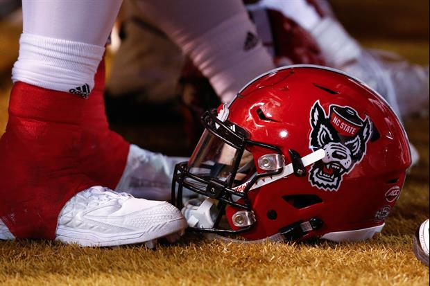 NC State Player Suffers Injury While Celebrating Touchdown With Teammates