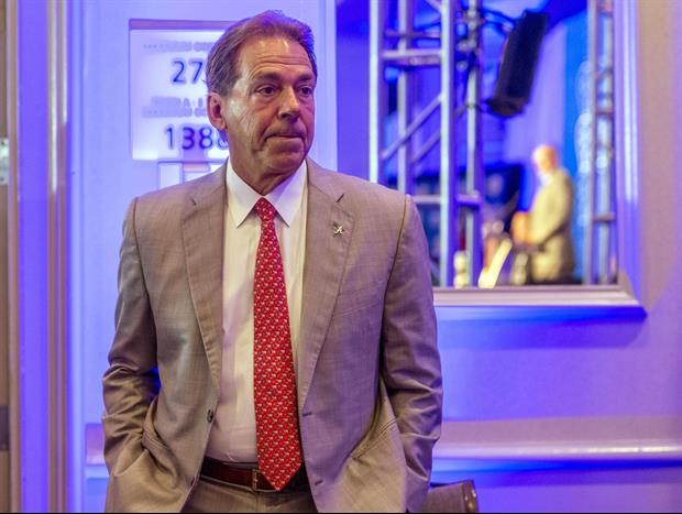 Nick Saban Was Dancing With A Recruit's Family During SEC Championship