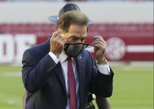 ESPN's Tom Rinaldi Details The Scene When Nick Saban Tested Positive