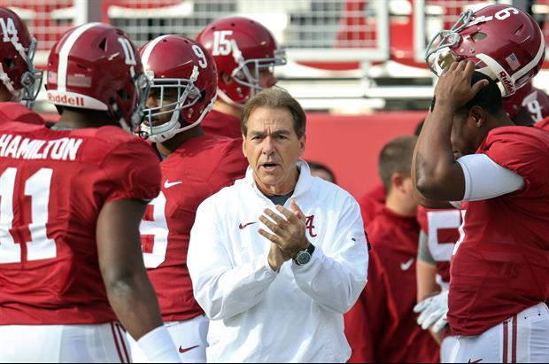 Alabama head coach Nick Saban got 8 of the 671 Senate Write-In Votes In Morgan County