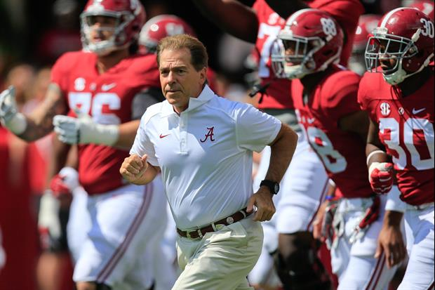 Alabama Offers Scholarship To Son Of Fighting Legend