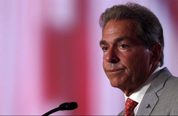 Nick Saban Wasn't Happy With This Schedule Question After His Team's Blowout Saturday