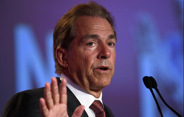 Nick Saban Shares His Dad's Advice After His High School Girlfriend Dumped Him
