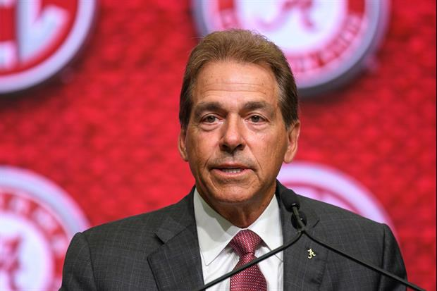 Alabama head coach Nick Saban had his right hip replacement surgery on Monday. The Crimson Tide gave