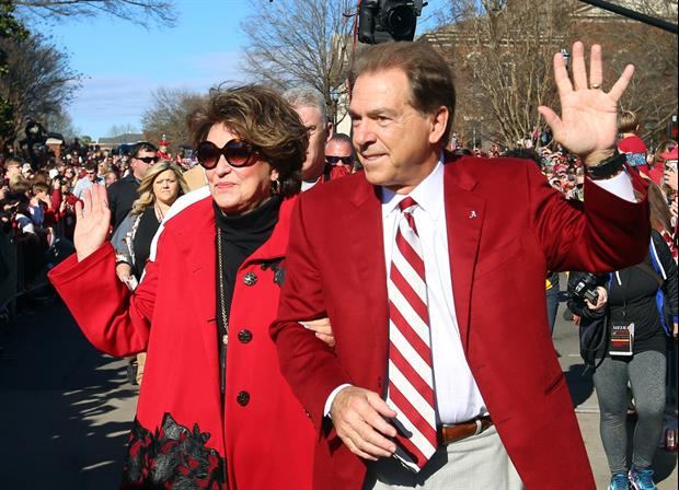 Here's How Nick Saban's Wife Punished Him For 15-Yard Penalty Against Duke