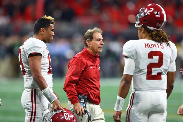 Nick Saban Is Down To Play Two Quarterbacks This Upcoming Season