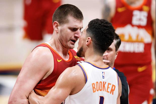 Nikola Jokic's Brothers Looked Ready To Fight All The Suns During Jokic's Game 4 Ejection
