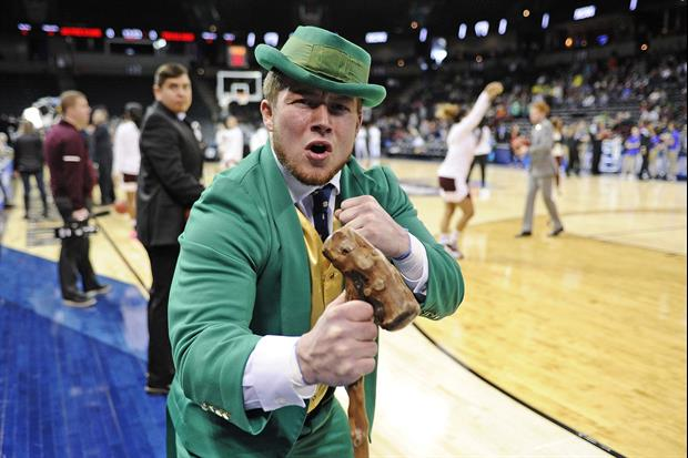 Notre Dame made history on Tuesday when they announced a new class of mascot Leprechauns. Among the