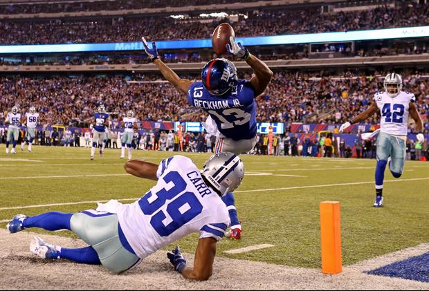 New York Giants WR Odell Beckham Jr had the best selling jersey on Sunday.