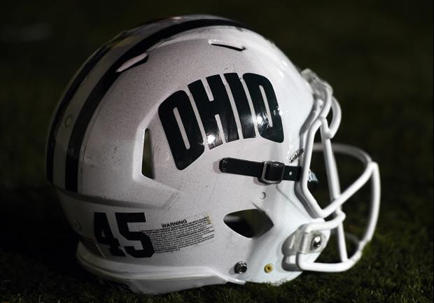 Check Out Ohio Offensive Lineman's Cartwheel Distraction vs. Western Michigan