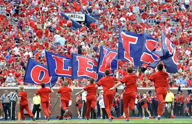 Have You Seen Ole Miss Football's New Party Decks For Students On Saturday?