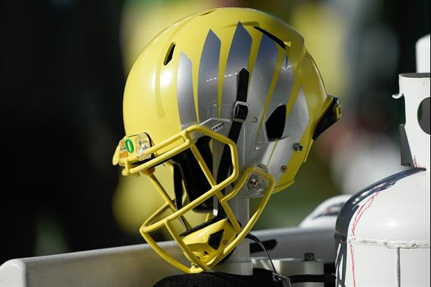 Check out the Oregon Ducks' collapsable sideline toilet for players......