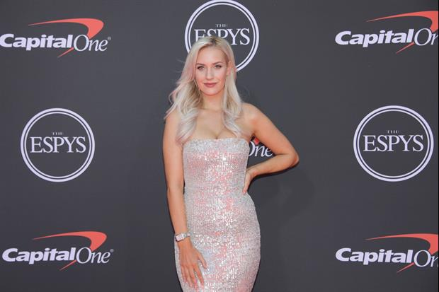 Golfer Paige Spiranac Is Proud Of Herself For Not Spilling On This Outfit