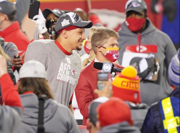 Gracie Hunt Celebrates Her Chiefs Winning Another AFC Championship