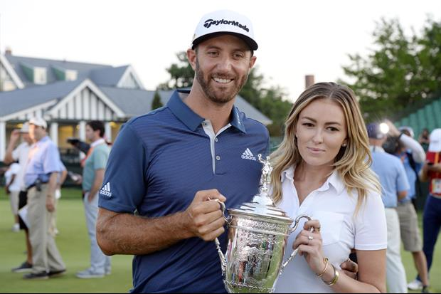 Paulina Gretzky Shows Off Her Putting-At-Home Skills