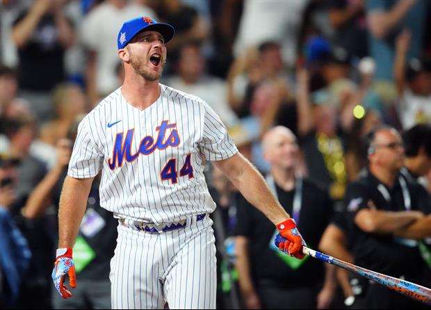 Watching All 74 Of Pete Alonso's Home Run Bombs From Last Night's Home Run Derby
