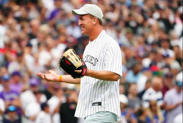 Peyton Manning's First Pitch At MLB All-Star Game Was Not Great