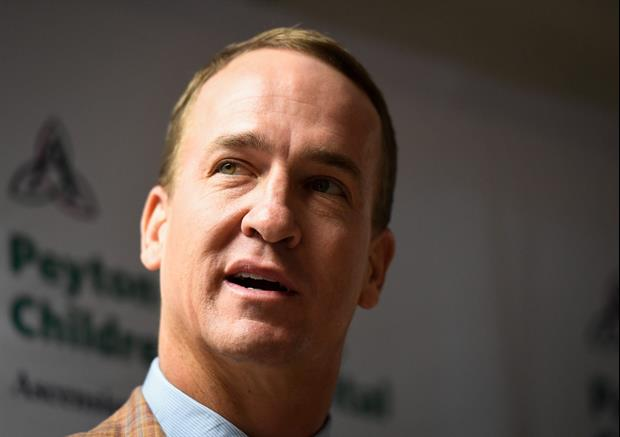 Peyton Manning Talks About The Famous Red Mark On His Forehead