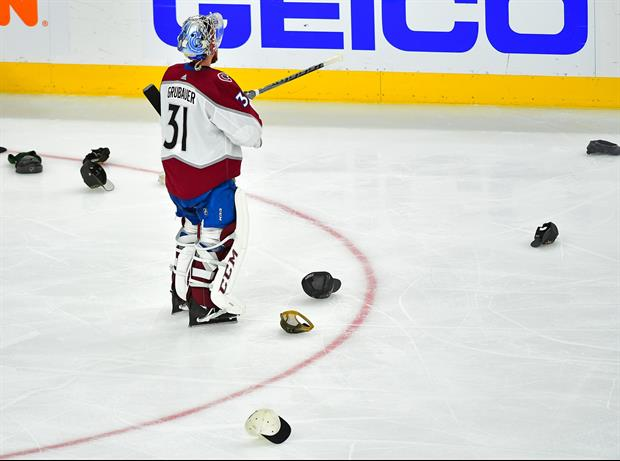Was This Reporter Drunk When Asking Avalanche Caption Nate MacKinnon?