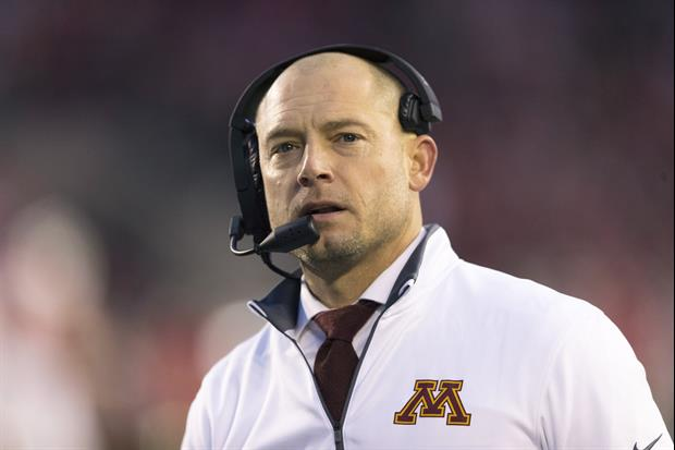Tennessee's search group has vetted Minnesota's P.J. Fleck for their vacant head coaching position