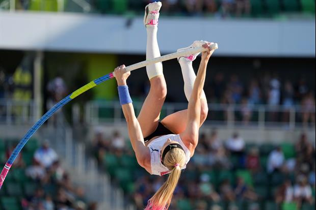Checking In On Canadian Pole Vaulter Alysha Newman's 27th B-Day Prior To The Olympics