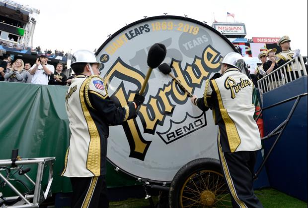 Notre Dame Won't Allow Purdue To Have World's Largest Drum On The Field